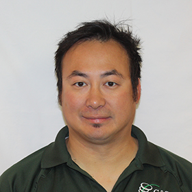 Dipo Fernandez, technician headshot image