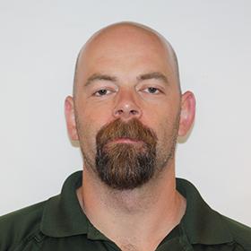 Ehan Peabody, HVAC division manager headshot image