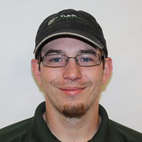 Matthew Hicks, lead technician headshot image